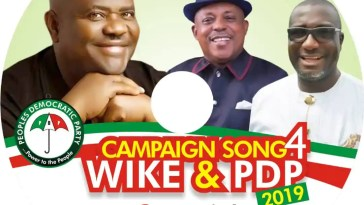 PDP 2019 Campaign Song