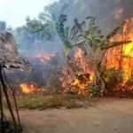 Fire outbreak in fishing settlement in Eastern Obolo, Akwa Ibom State 13