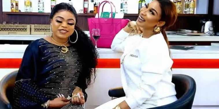 """""""I Promise to be loyal to you till death do us part' – Bobrisky tells Tonto 1"""