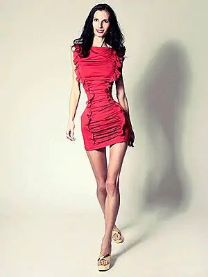 2. Loana Spangenberg Skinniest person in the world