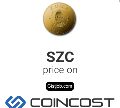 Zuga Coin (SZC) Price In Nigeria (NGN) Registration - www.zugacoin.io Sign Up Here