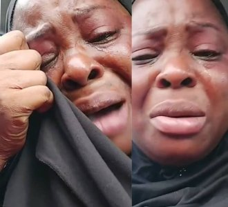 Actress Biola Fowosire Breaks Down In Tears After Robbers Raided Her Shop For The Second Time
