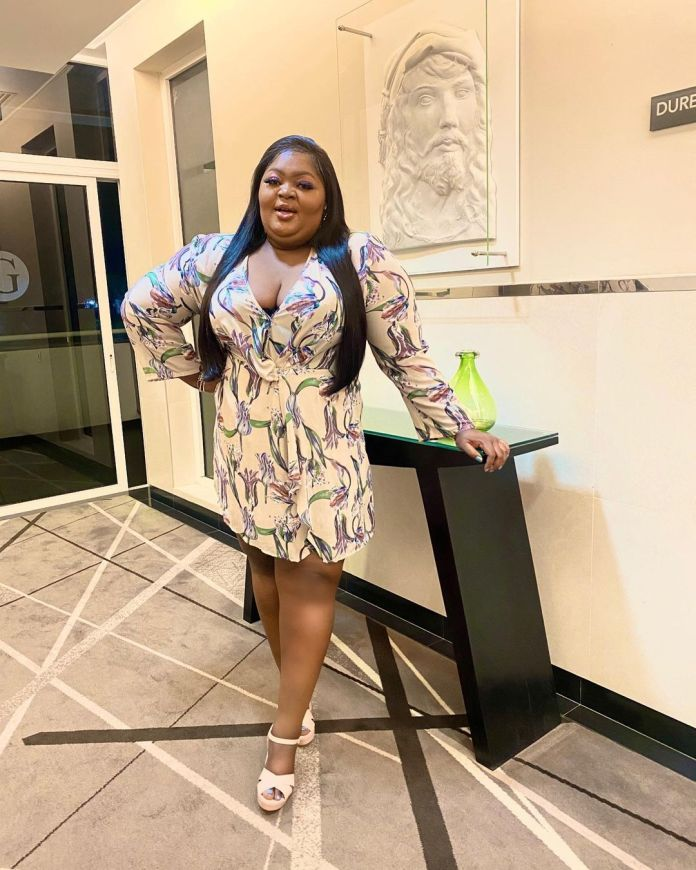 I'm Not In Competition With Anybody Actress Eniola Badmus Replies Follower Who Asked If She's Depressed