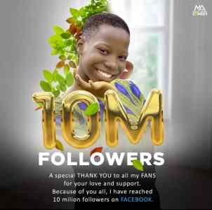 We Couldn't Have Done It Without You Comedienne, Emanuella Appreciates Fans As She Hits 10m Followers On Facebook