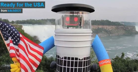 HitchBot is coming to America!