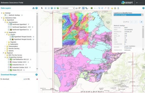 Botswana Geoscience Portal