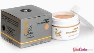 La Tulipe Cover Foundation For Oily Skin - (Sumber: buildtheface.blogspot.com)