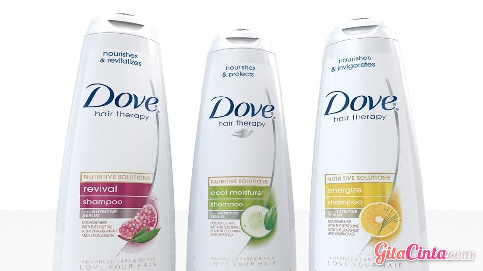 Shampo Dove - (Sumber: www.turbosquid.com)