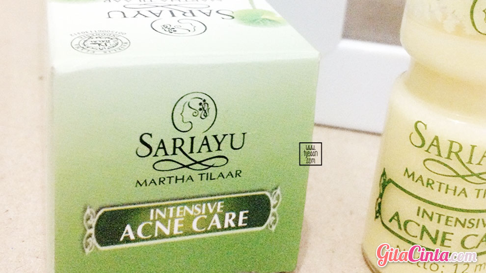 Intensive Acne Care Sariayu - (Sumber: tyeean.id)
