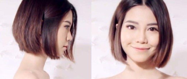 Contoh Model Rambut Atas Pendek Bawah Panjang Terbaru ...