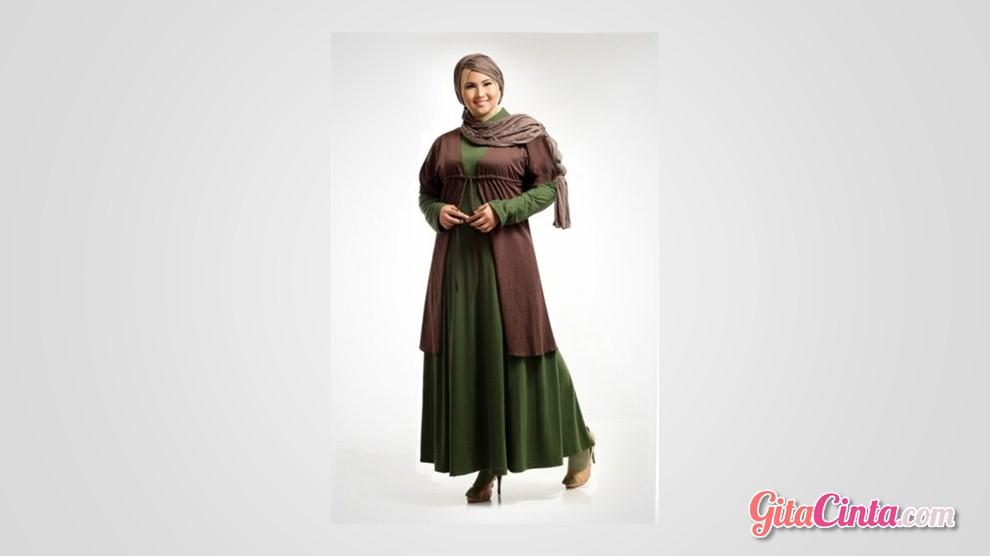410 Model Baju Casual Untuk Orang Gemuk Dan Berjilbab HD Terbaru