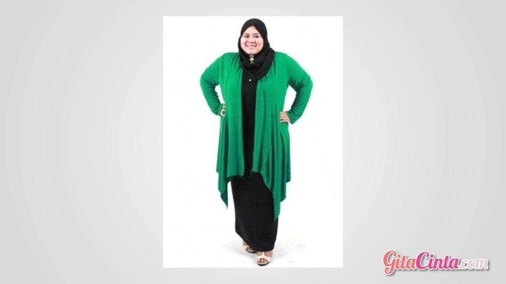 model baju untuk orang gemuk dan berjilbab