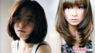 Ilustrasi: gaya rambut wanita Asia