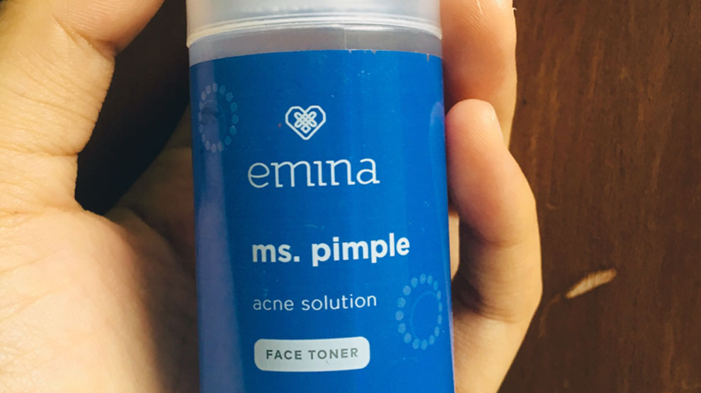 Emina Ms Pimple Acne Solution Face Toner (sumber: id.carousell.com)