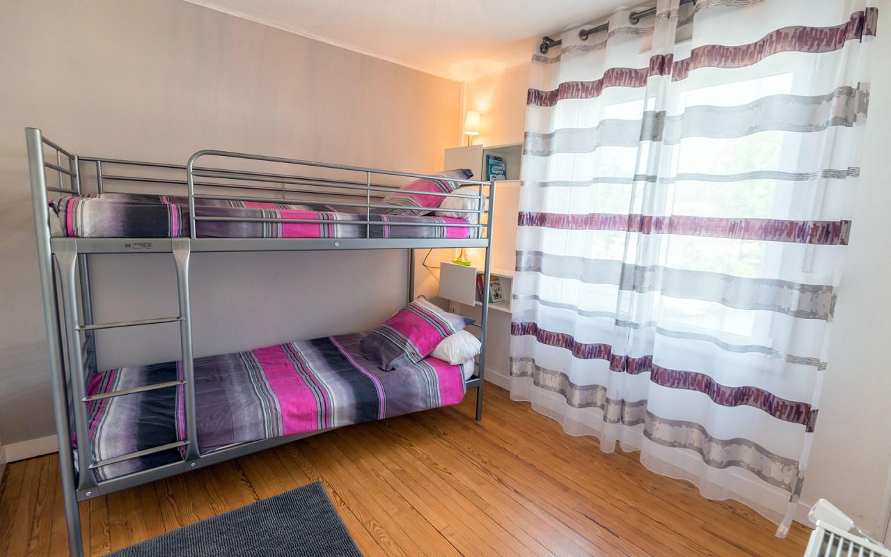 Gite Brest - Au bout du ponton - lits chambre n°2
