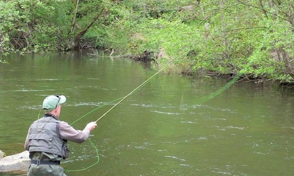 Parcours de pêche sportive sur plus de 4km en aval du Moulin de Record
