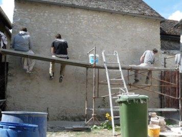 Des artisans locaux ont réalisé les travaux