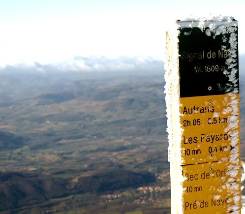 Piquet d'altitude Nave en Isère