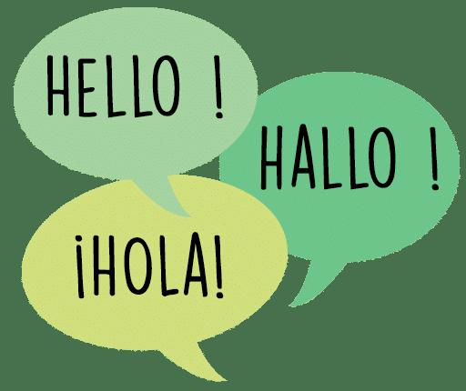 Anglais espagnol néerlandais