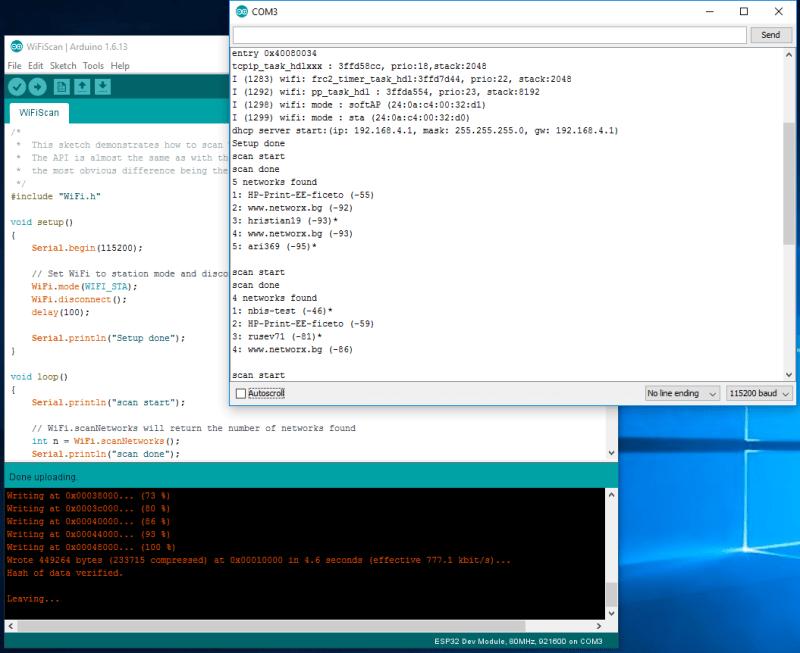 Arduino IDE Example