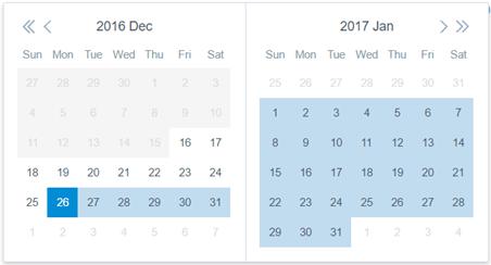 Date range Image