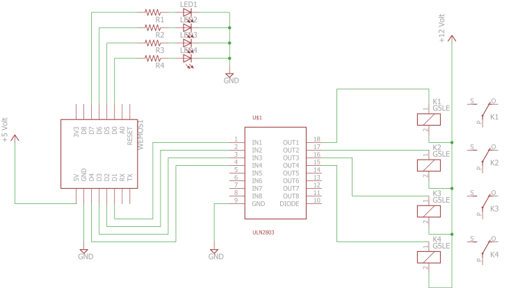 Schematic IOT Power Outlet