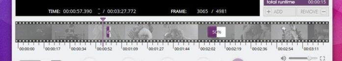 Прогресс-бар в видеоредакторе VidCutter 5.0