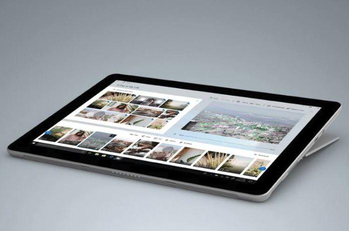 Microsoft's Surface Go обладает уникальным углом размещения