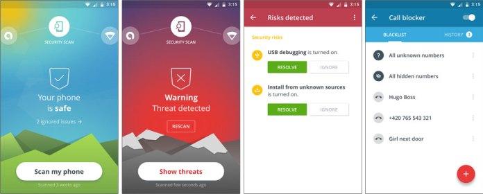 Avast Mobile Security лучший антивирус для андроид