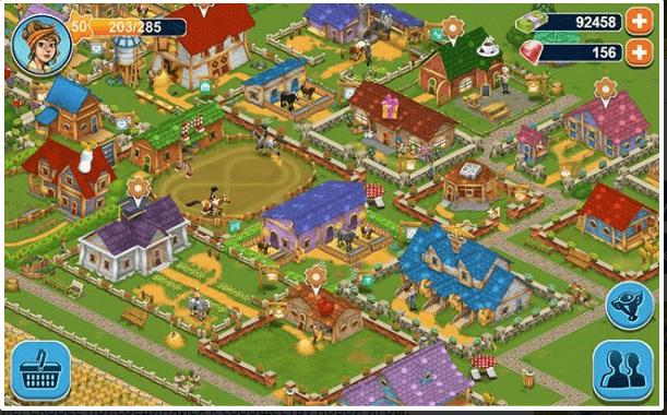игры Ферма: Horse Farm