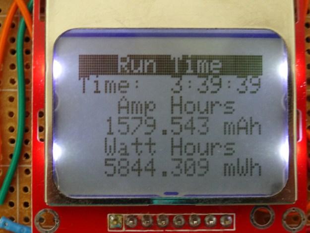 Run Time Display