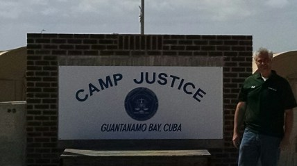 Jeff Papa - At Camp Justice - GTMO - 14 September 2014