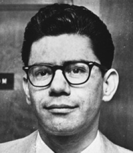 Ernesto Miranda, 1967, the defendant in the landmark U.S. Supreme Court case that bears his name