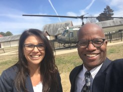 edwards and fagundes -- ft meade - helicopter -- 11 March 2017