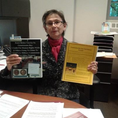 Preparing to observe war court proceedings at Ft. Meade, Maryland in the case against Hadi al-Iragi/Nashwan al Tamir