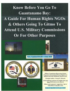 Know Before You Go To Guantanamo - July 2019