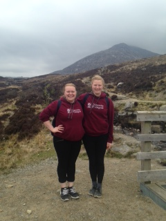 Us on the Goat Fell 2