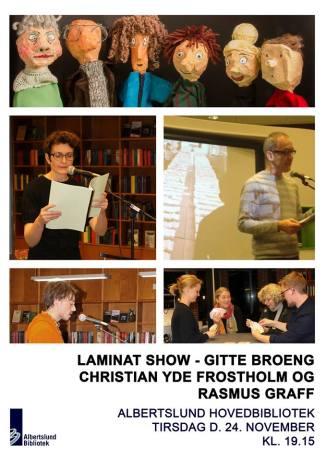 plakat Laminat Show