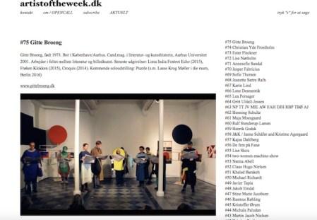 artistoftheweek