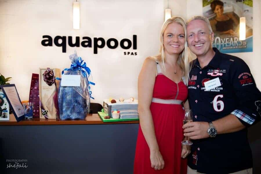 Wonderful Anniversary Party at Aqua Pool Spas, San Pedro