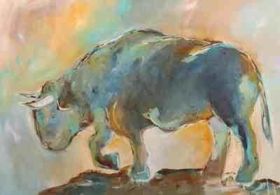 Blue Giant Bull