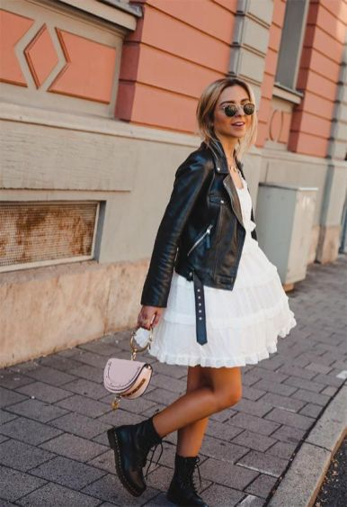 In this article, we've listed the best leather jackets for women, a guide for buying the perfect style and leather jacket outfits to try!