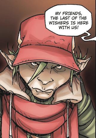 2006 Wisher comic book drawn by Giulio De Vita