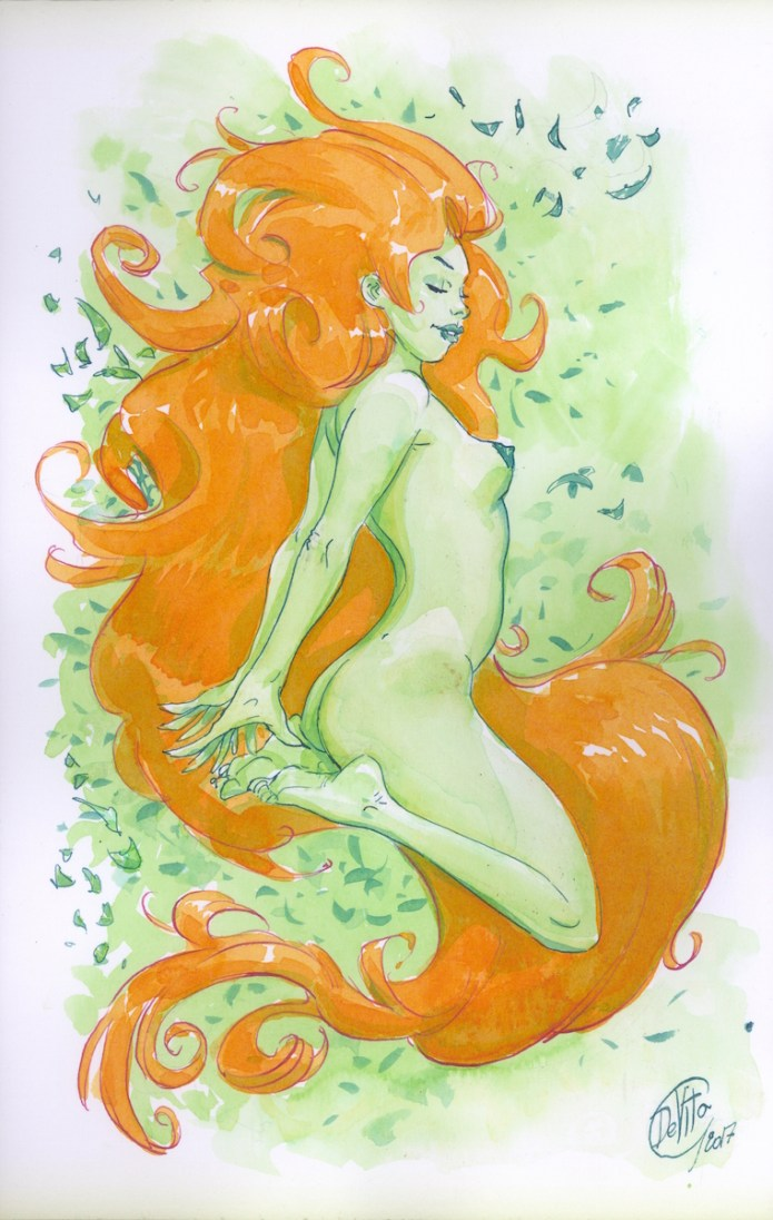Illustration Commission Original Available by Giulio De Vita
