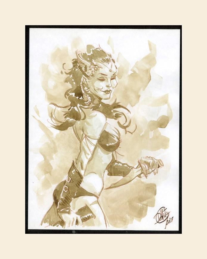 watercolor comics