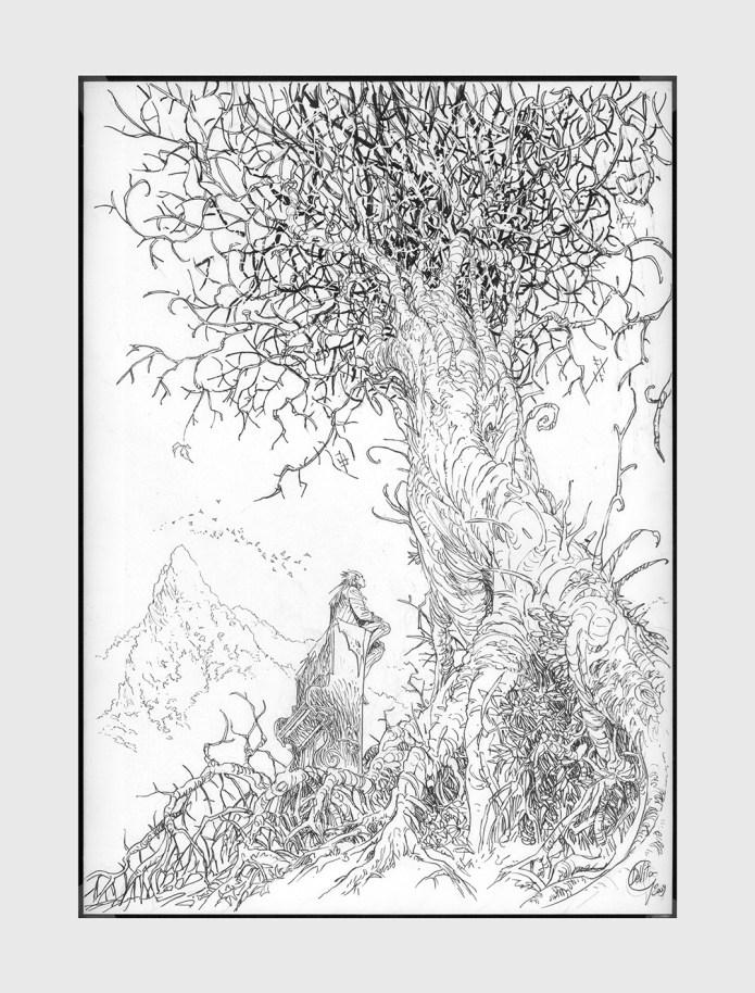 """illustrazione di Giulio De Vita per il libro """"Lemuri il Visionario"""""""
