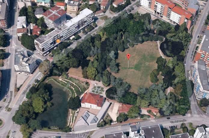 Palazzo arti fumetto Friuli di Pordenone e parco Ggalvani