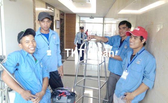 nhân viên đã hoàn thành và nghiệm thu công trình - TKT Maids