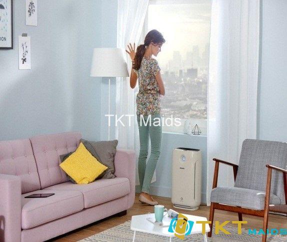 máy lọc không khí đặt trong nhà hoặc văn phòng