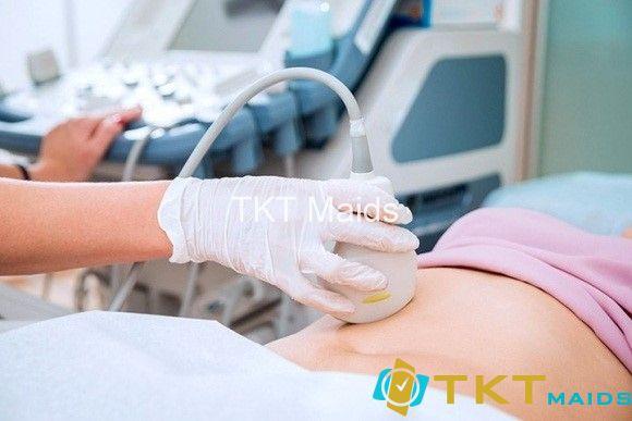 Bệnh nhân siêu âm ổ bụng